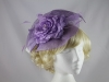 Maddox Lilac Flower Headpiece